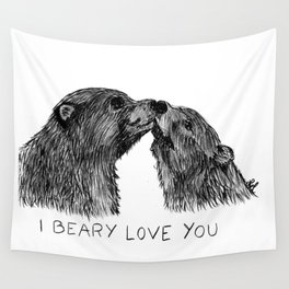 I beary love you Wall Tapestry