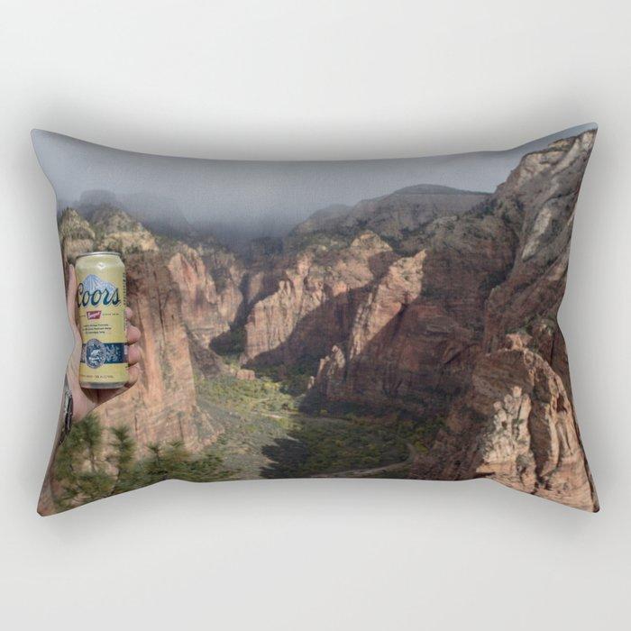 Angel's Beer Rectangular Pillow