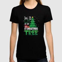Im a lit up like a christmas tree snow winter T-shirt