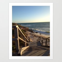 Cove Beach Art Print