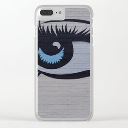 L'oeil, the #eye Clear iPhone Case