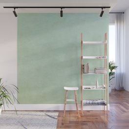 Green Sea Glass Wall Mural