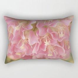 Tropical Hydrangea Rectangular Pillow
