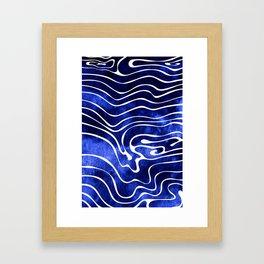 Tide II Framed Art Print