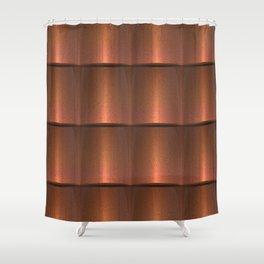 copper work Shower Curtain