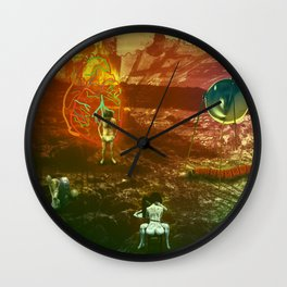 THE BOOK OF ILLUSIONS 010 Wall Clock