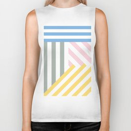 Summer stripes Biker Tank