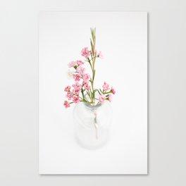 Wax Flower Canvas Print
