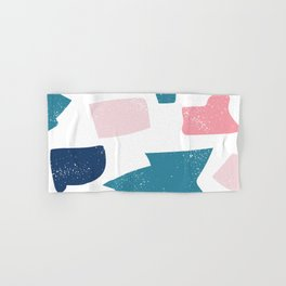 Seamless Bright Colorful Pattern Hand & Bath Towel