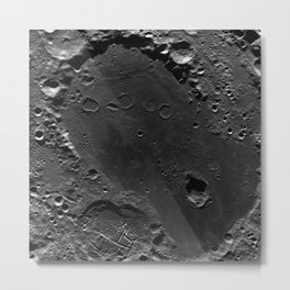 The Dark Side Of The Moon (Mare Moscoviense) Metal Print