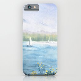 Cayuga Lake Regatta iPhone Case