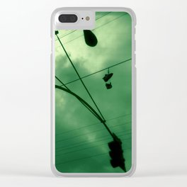 Shoes and Wires Clear iPhone Case