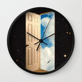 The Portal: From The Stars To The Clouds Wall Clock