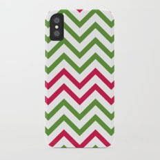 Graphic Holiday Pattern iPhone X Slim Case