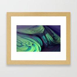 Microscopium Supercluster Framed Art Print