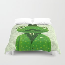 Mr. Frog Duvet Cover