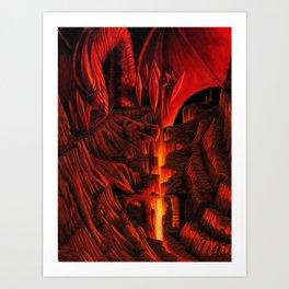 Dragon Rising Art Print