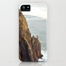 Lower Neahkahnie Mountain Ocean Spires, Oregon Coast Landscape iPhone Case
