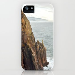 Lower Neahkahnie Mountain Ocean Spires, Oregon Coast Landscape iPhone Case