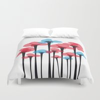 tulip Duvet Covers featuring Tulip by GabrieleCigna