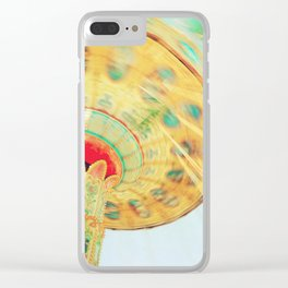 Swinging Around Ride Clear iPhone Case