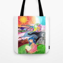 Tiempo Tote Bag