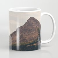 montana Mugs featuring Montana Mountain by Kurt Rahn