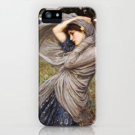 John William Waterhouse. Boreas. iPhone Case