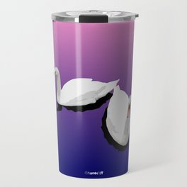 Two Swans Travel Mug
