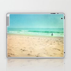 Dreaming at the summer beach Laptop & iPad Skin
