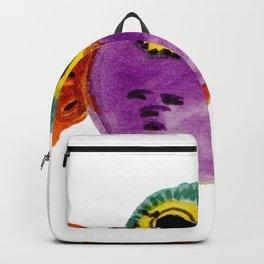Chouette colorée Backpack