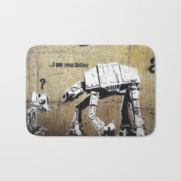 Banksy, I am your father Bath Mat