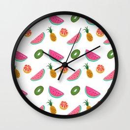 TROPICAL FRUITS Wall Clock