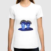 danisnotonfire T-shirts featuring AmazingPhil & Danisnotonfire by xzwillingex