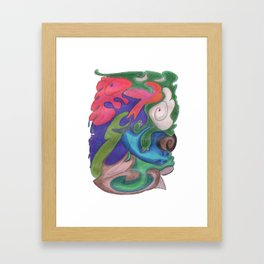 Drawing #65 Framed Art Print