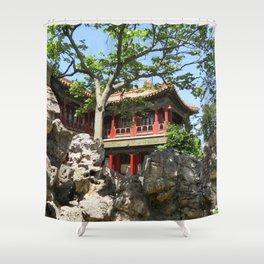 Forbidden City Gardens House  Shower Curtain