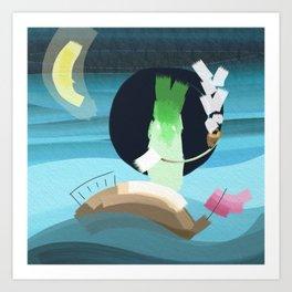 Ghost Pirate Art Print