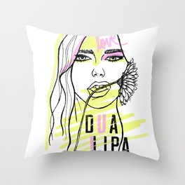 Mwah! Throw Pillow
