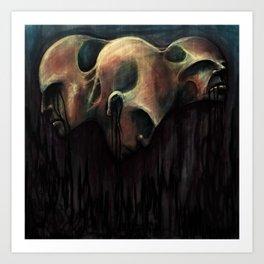 See Evil, Hear Evil, Speak Evil Art Print