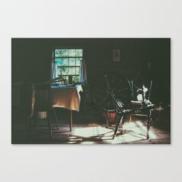in a different time Canvas Print