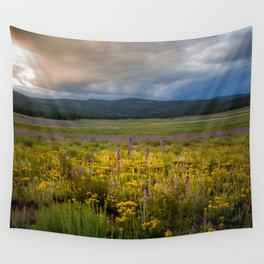 New Mexico Spring flowers Wall Tapestry