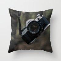 film Throw Pillows featuring Film  by Gunjan Marwah