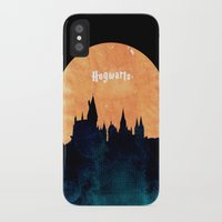 hogwarts iPhone & iPod Cases featuring Hogwarts by IA Apparel