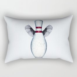 The dream of the bowling pin Rectangular Pillow