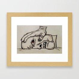 Angst Framed Art Print