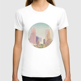 Downtown Houston Panorama T-shirt