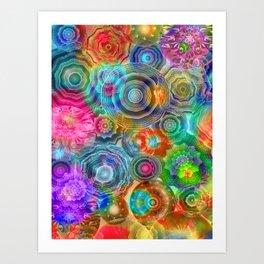 Flowery Meadow 2 Art Print
