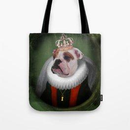 English Bulldog Art - Lucy Tote Bag