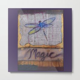 Art is Magic Metal Print
