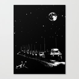 Lunar Convoy Canvas Print